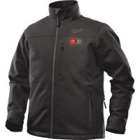 Milwaukee M12 Cordless Black Heated Jacket Kit