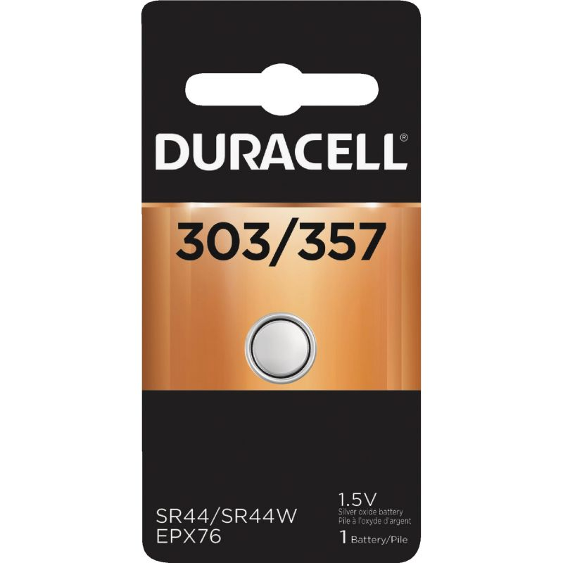 Duracell 303/357 Silver Oxide Button Cell Battery 175 MAh