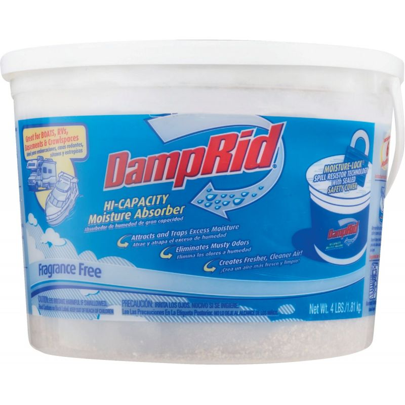 DampRid 64 Oz. Hi-Capacity Moisture Absorber 64 Oz., 250 Sq. Ft.