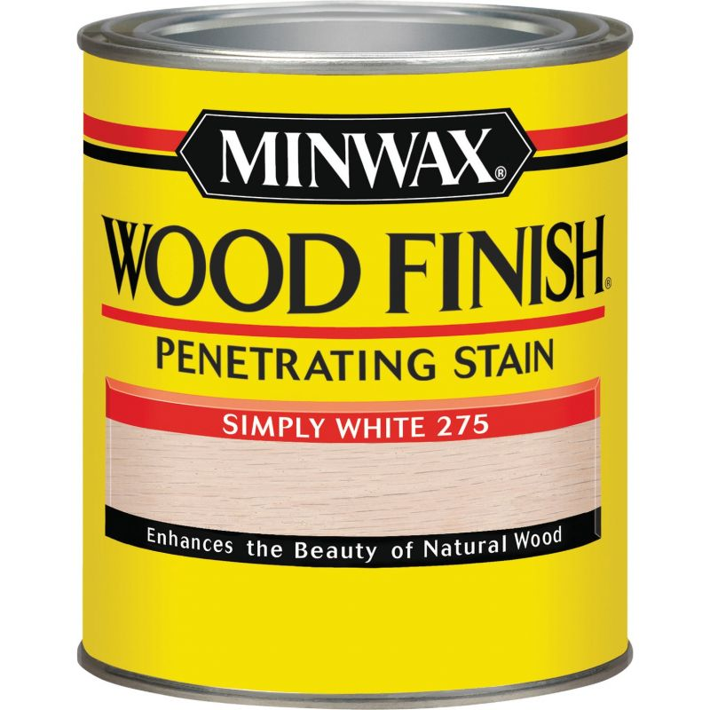 Minwax Wood Finish Penetrating Stain 1 Qt., Simply White