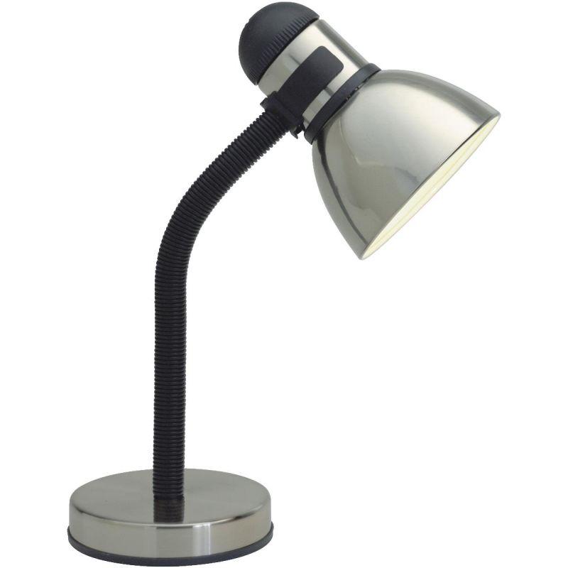 Satco 13w gooseneck desk lamp