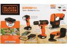 Black & Decker 12V MAX Li-Ion 4-Tool GoPak Cordless Tool Combo Kit