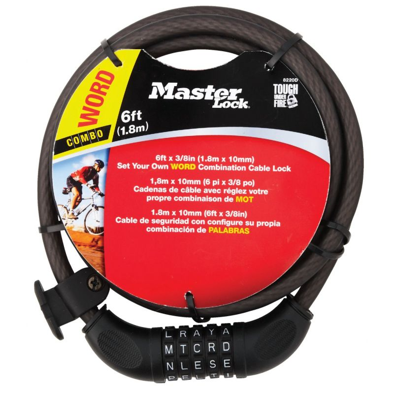 Master Lock Cable Bicycle Lock