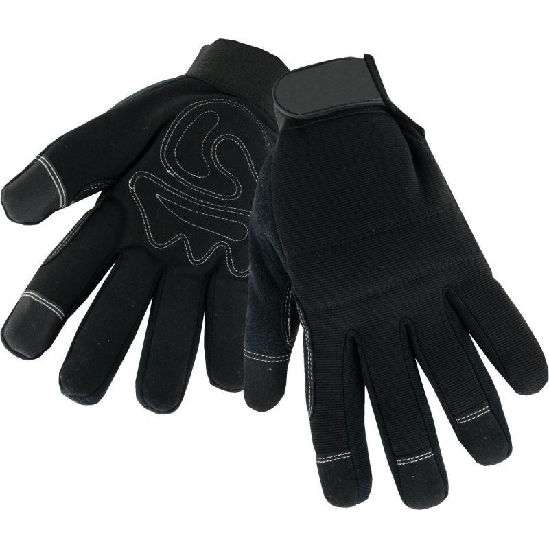 West Chester High Dexterity Winter Work Glove XL, Black