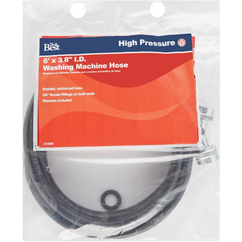 "Do it Washing Machine Inlet Pressure Hose 3/4"" X 3/4"" FGH X 6'"