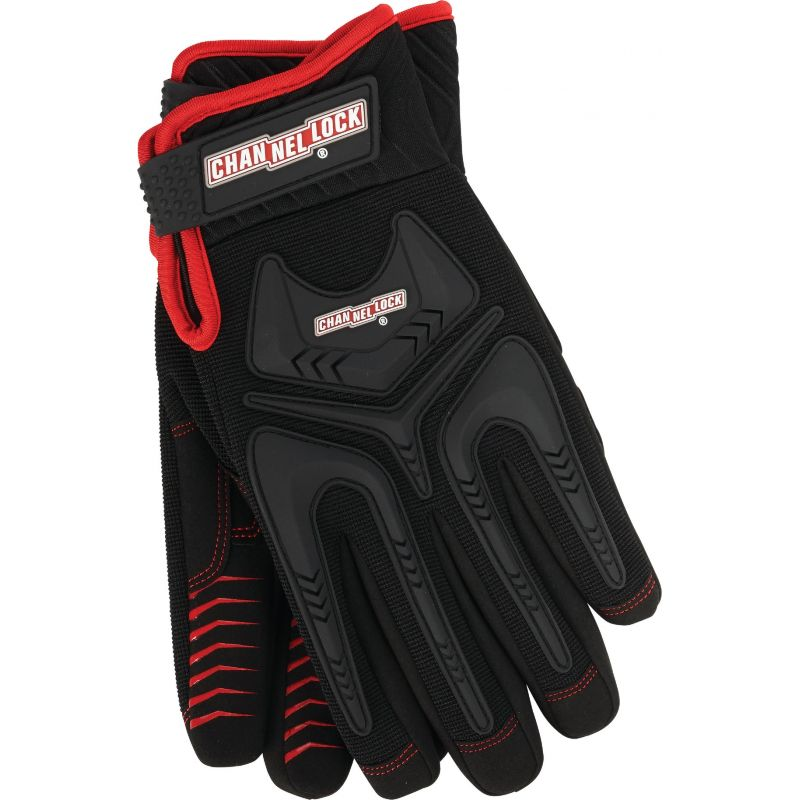 Channellock Heavy-Duty Mechanics Glove XL, Black