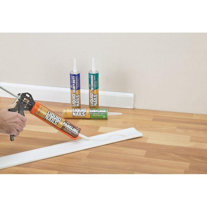 Heavy Duty Construction Adhesive, Liquid Nails Laminate Flooring