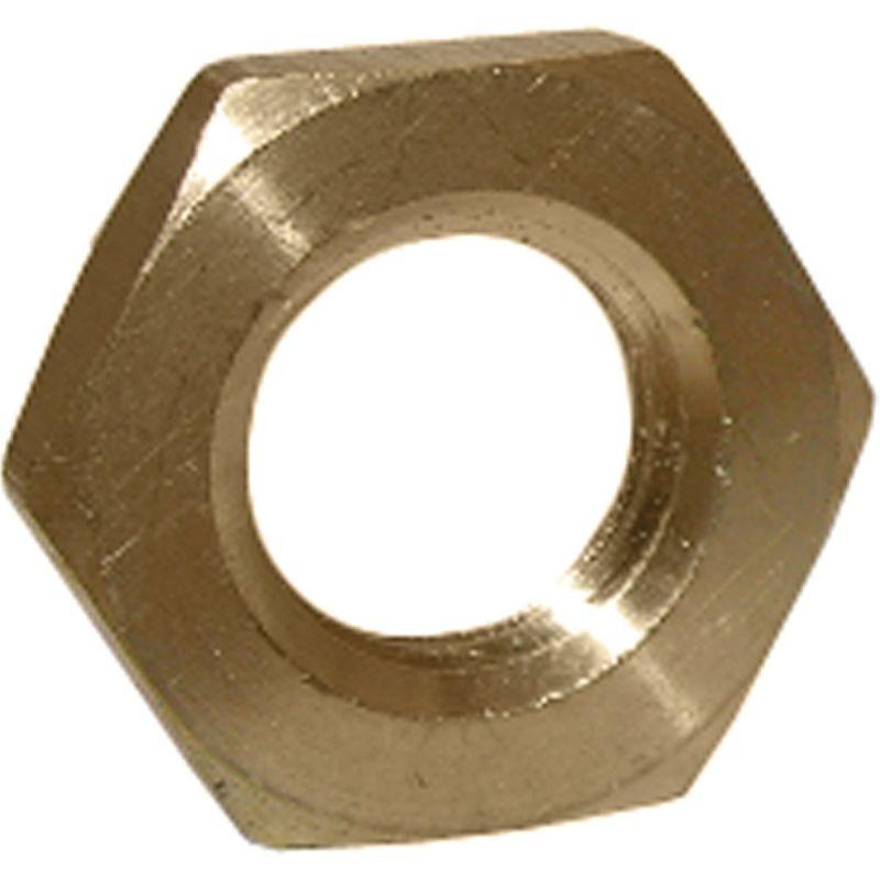 """Lasco Brass Lock Nut 1/4"""" FPT"""