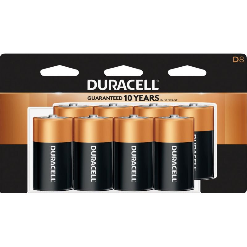 Duracell CopperTop D Alkaline Battery 15000 MAh