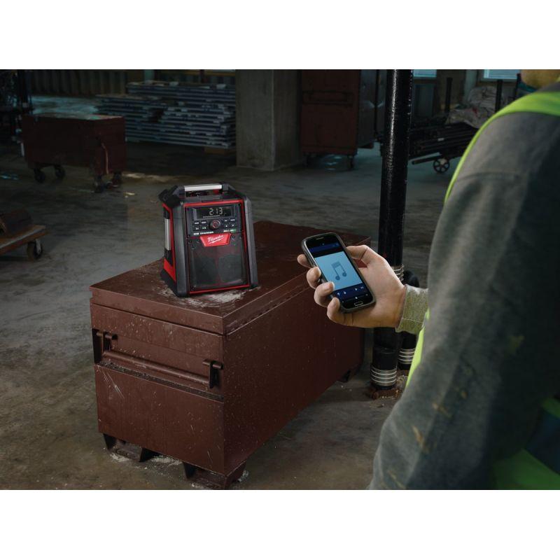 Milwaukee M18 Bluetooth Cordless Jobsite Radio/Charger