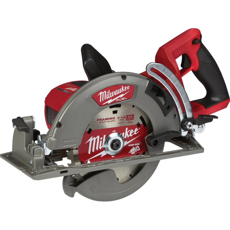 Milwaukee M18 FUEL Lithium-Ion Brushless Cordless Circular Saw w/Rear Handle - Bare Tool