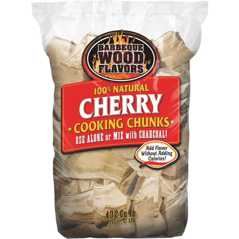 Barbeque Wood Flavors Smoking Chunks 432 Cu. In.