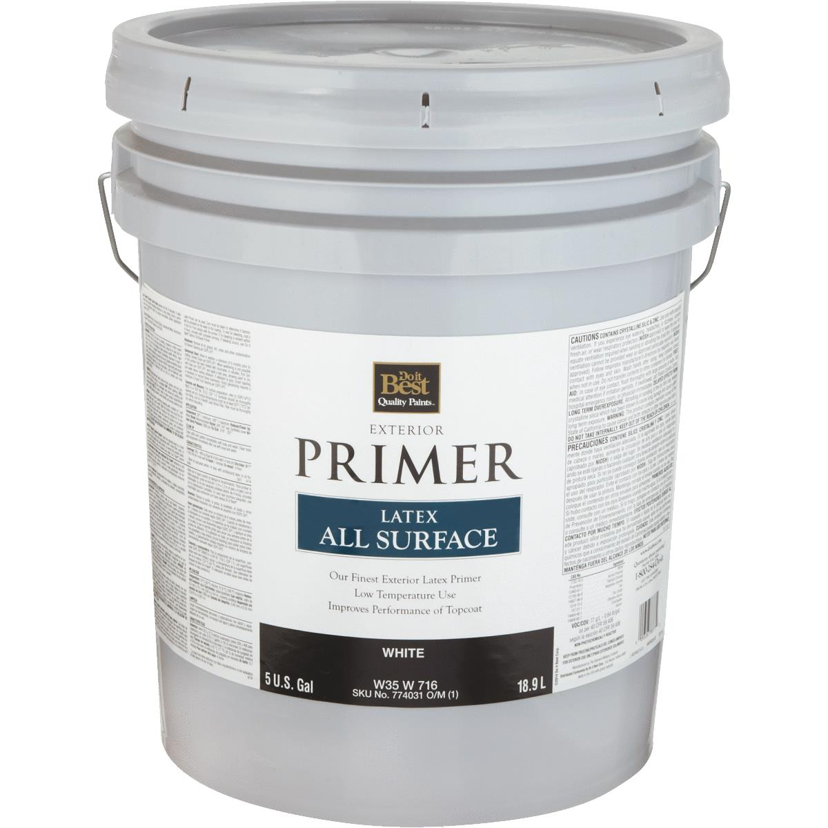 Do It Best Latex Exterior Primer. Sherwin Williams
