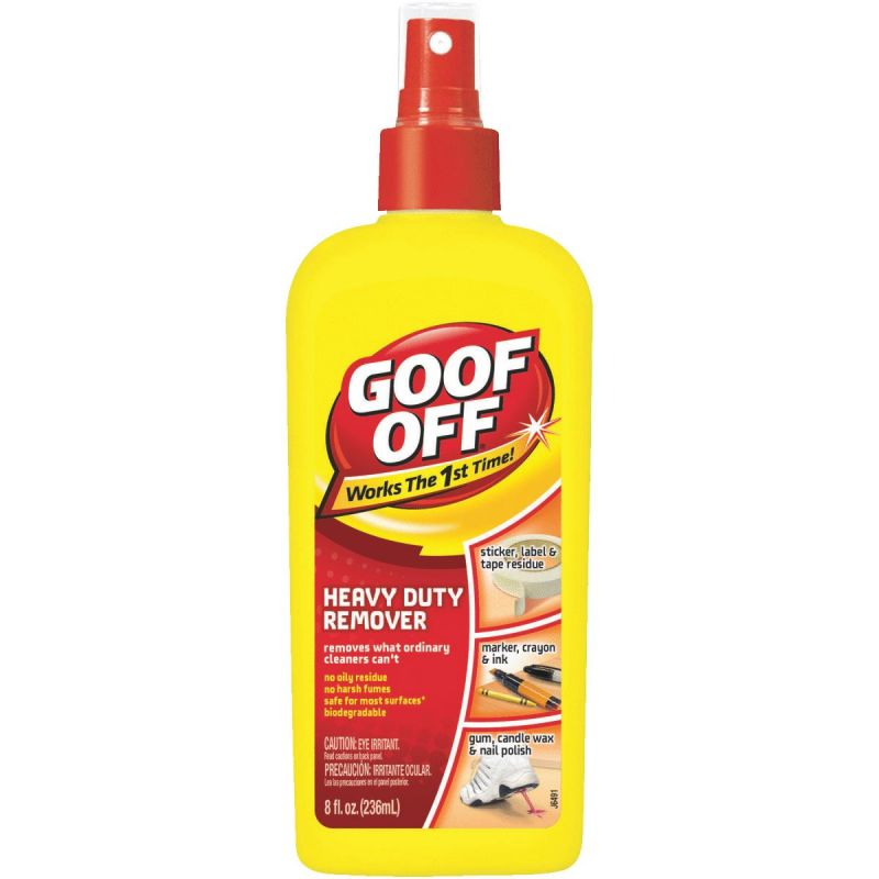 Goof Off Heavy-Duty Remover 8 Oz.