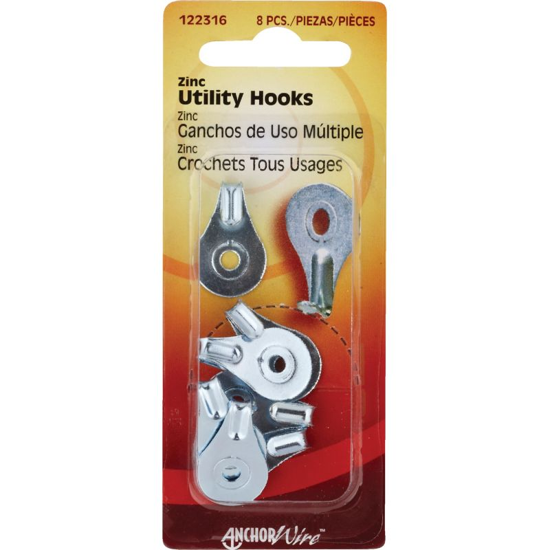 Hillman Anchor Wire Utility Hanger (Pack of 10)