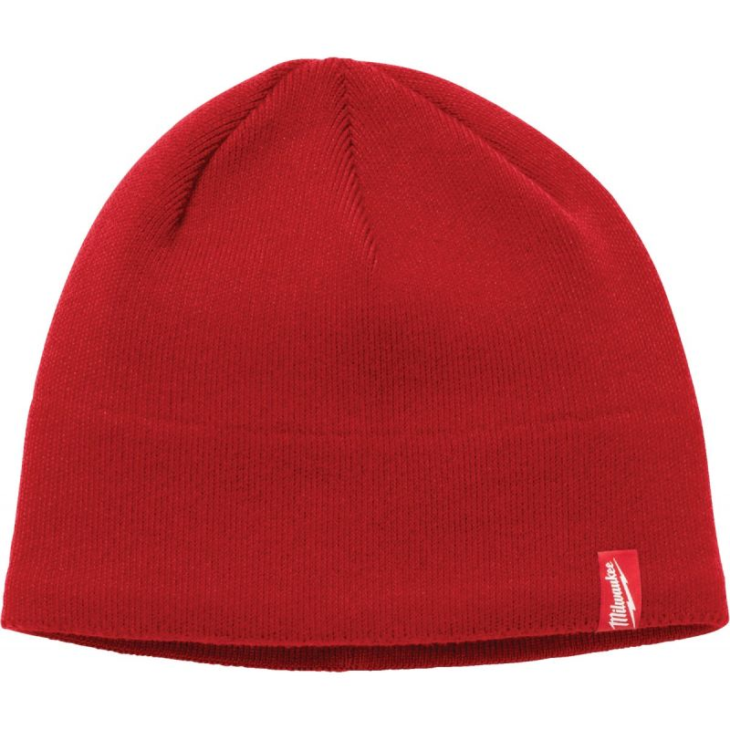 Milwaukee Beanie Sock Cap Red, Beanie