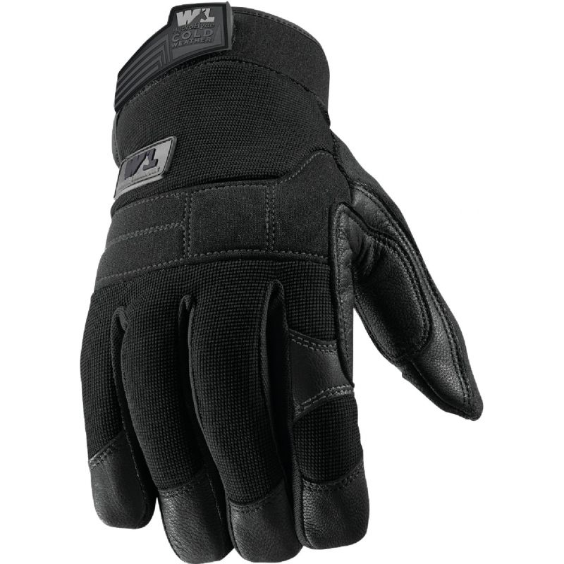 Wells Lamont FX3 HydraHyde Men's Work Gloves L, Black