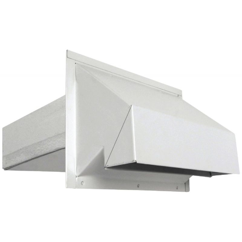 Imperial R2 Range Wall Vent Cap 3-1/4 In. X 10 In., Silver