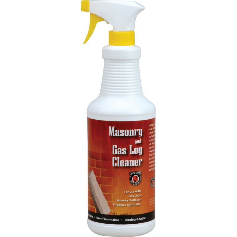 Meeco's Red Devil Gas Log and Masonry Cleaner 32 Oz., Trigger Spray