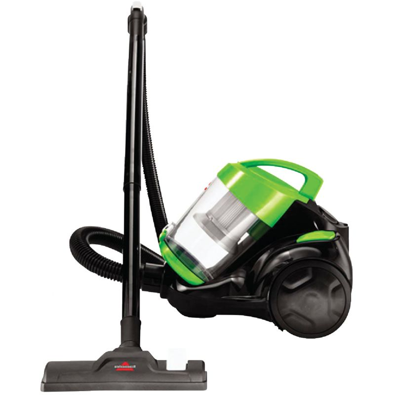 Bissell Zing Bagless Canister Vacuum Cleaner Black/Green