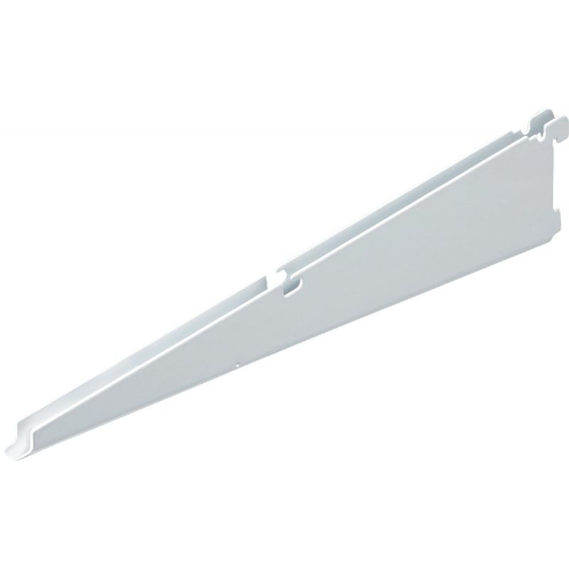 FreedomRail Twin Shelf Bracket White