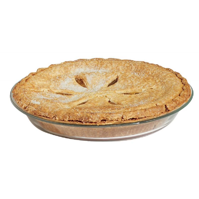 Pyrex Pie Plate Clear, Regular (Pack of 6)
