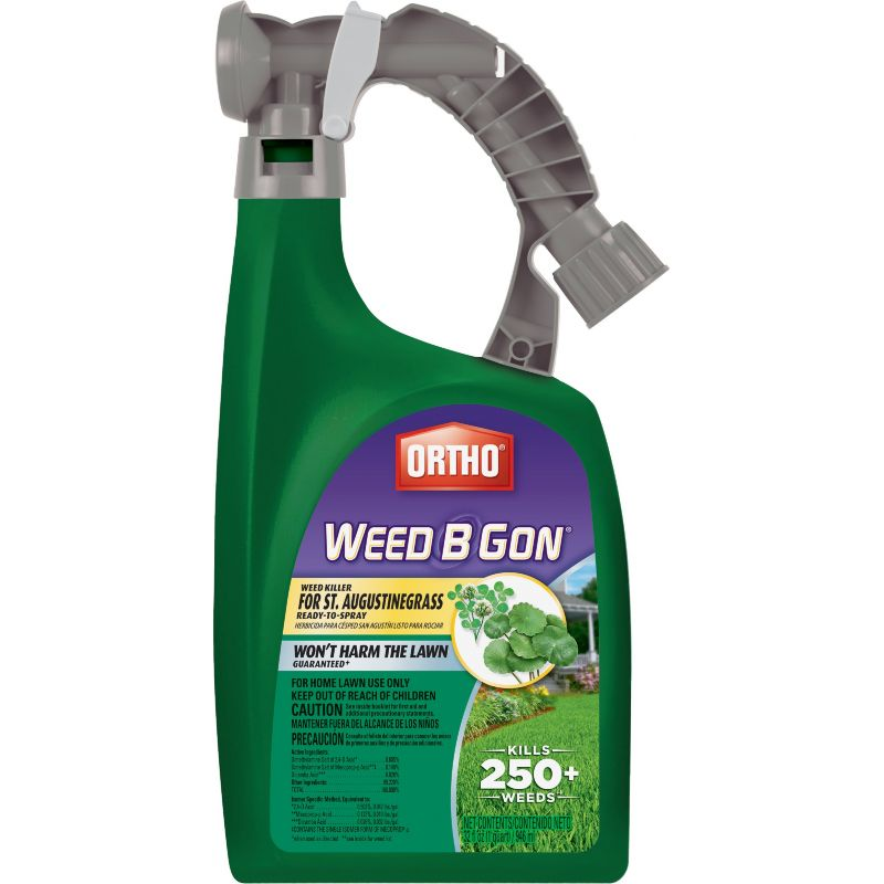 Ortho Weed-B-Gon Weed Killer For St Augustine Grass 32 Oz., Hose End