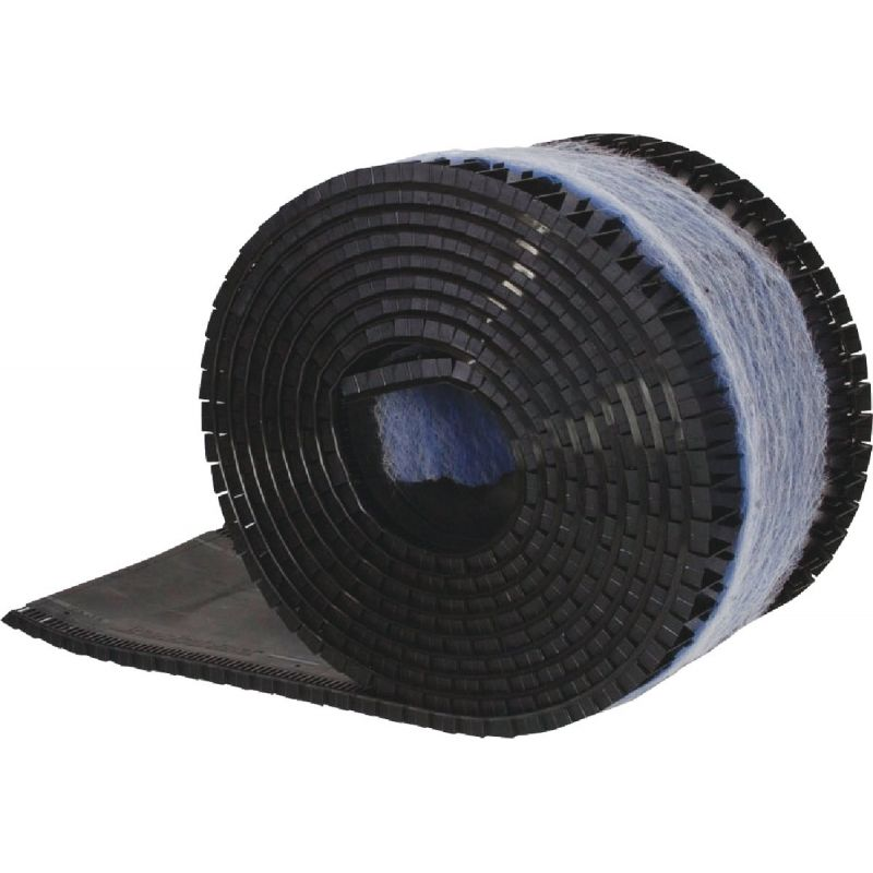 Air Vent Peak Performer II Filtered Shingle-Over Rolled Ridge Vent 12 In. X 28 Ft., Black