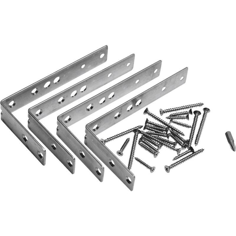 Deckorators Multi-Angle Rail Bracket Hardware Kit Stainless Steel