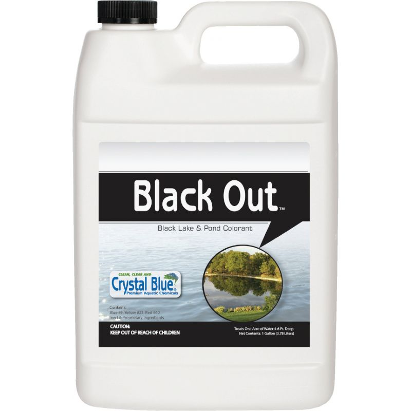 Black Out Lake & Pond Colorant Reflective, 1 Gal.