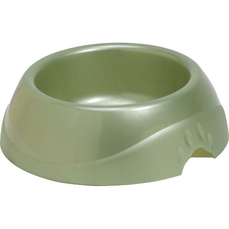 Petmate Designer Pet Food Bowl Large, Speckled Dove, Blue, Or Red