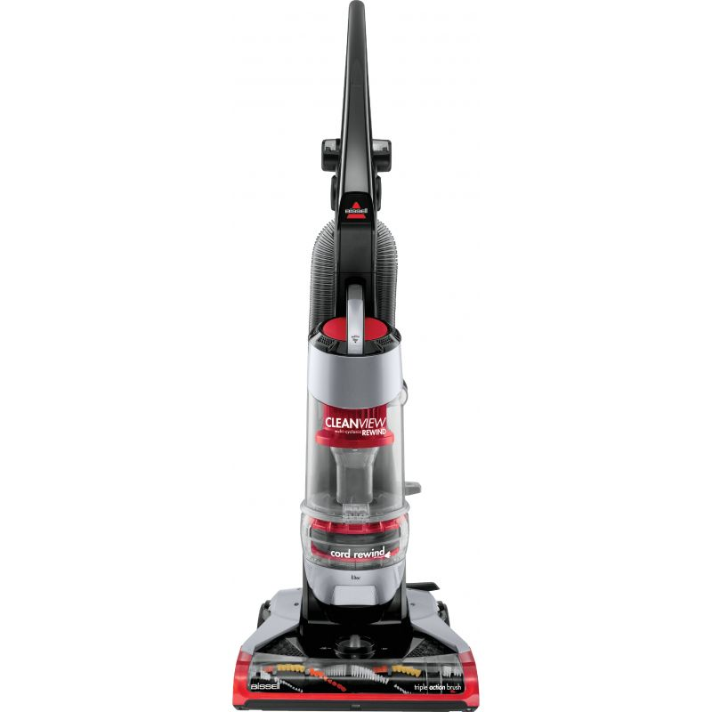 Bissell CleanView Plus Rewind Upright Vacuum Cleaner Red