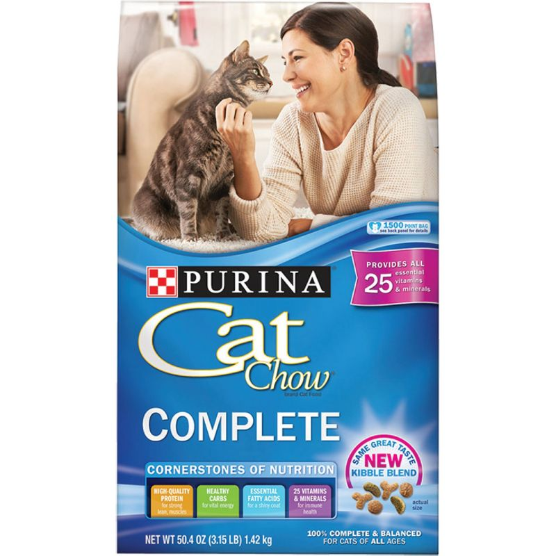 Purina Cat Chow Dry Cat Food 3.15 Lb.