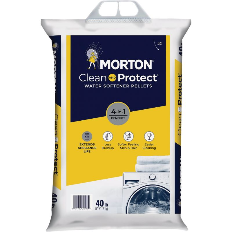 Morton Clean and Protect Water Softener Salt