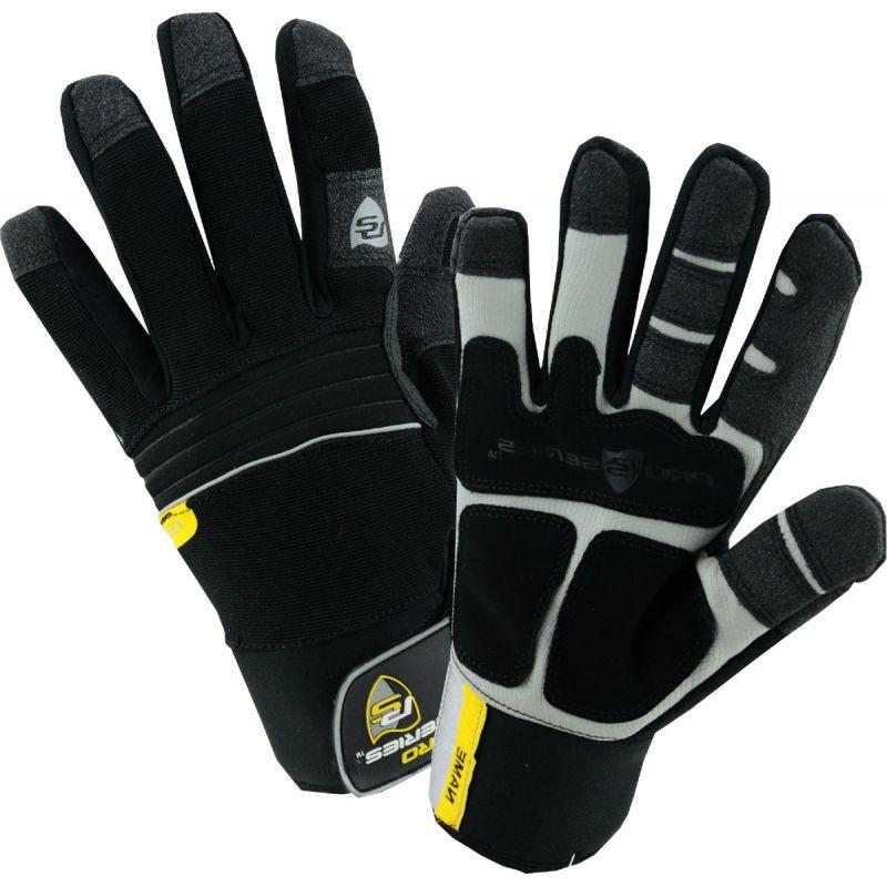 West Chester Winter Work Glove L, Black
