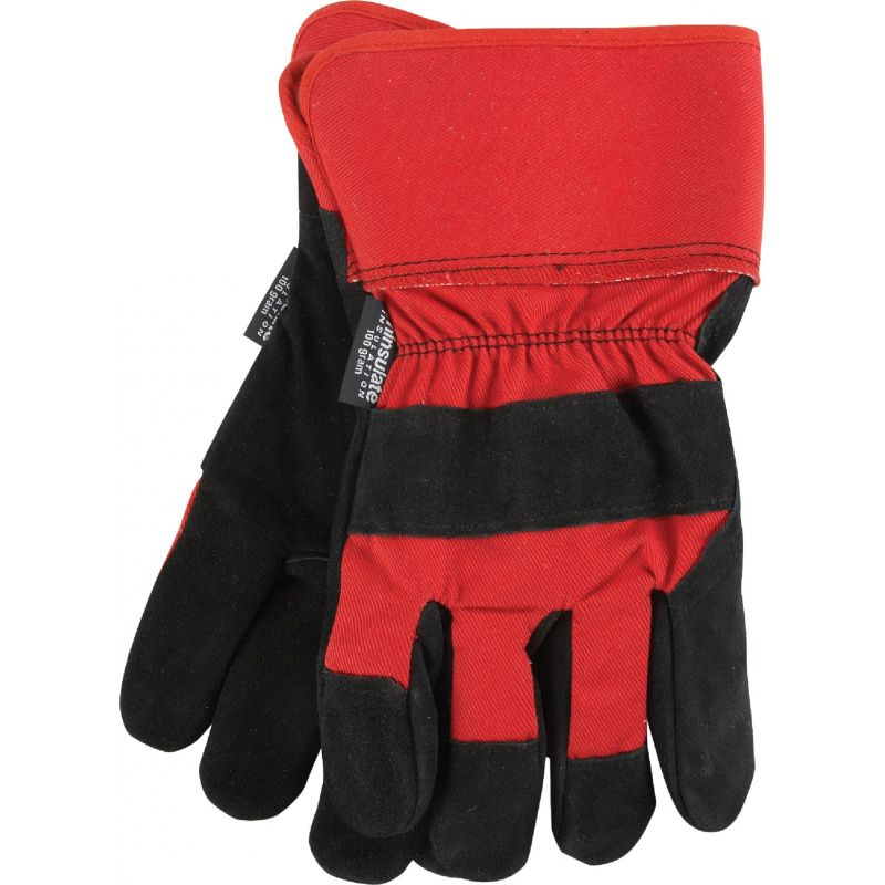 Do it Best Leather Winter Work Glove L, Assorted