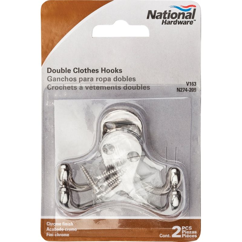 National V163 Double Clothes Hook