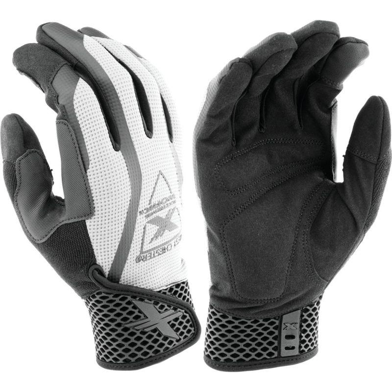 West Chester Protective Gear Extreme Work Multi-PleX Work Glove XL, Gray & Black