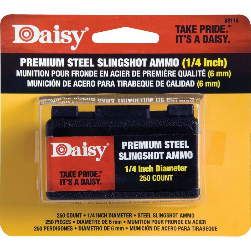 Daisy Steel Shot Slingshot Ammunition 1/4 In.