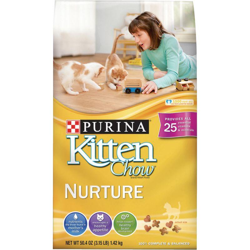 Purina Kitten Chow Dry Kitten Food 3.15 Lb.