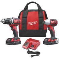 Milwaukee M18 Lithium-Ion Drill and Impact Cordless Tool Combo Kit