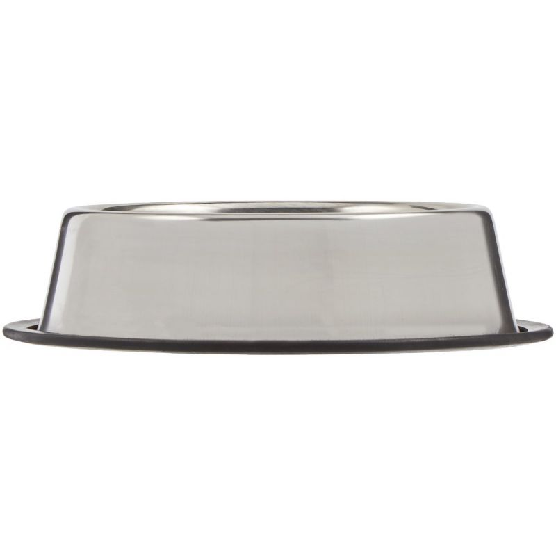 Westminster Pet Ruffin' it Stainless Steel Non-Skid Pet Food Bowl 24 Oz., Stainless Steel