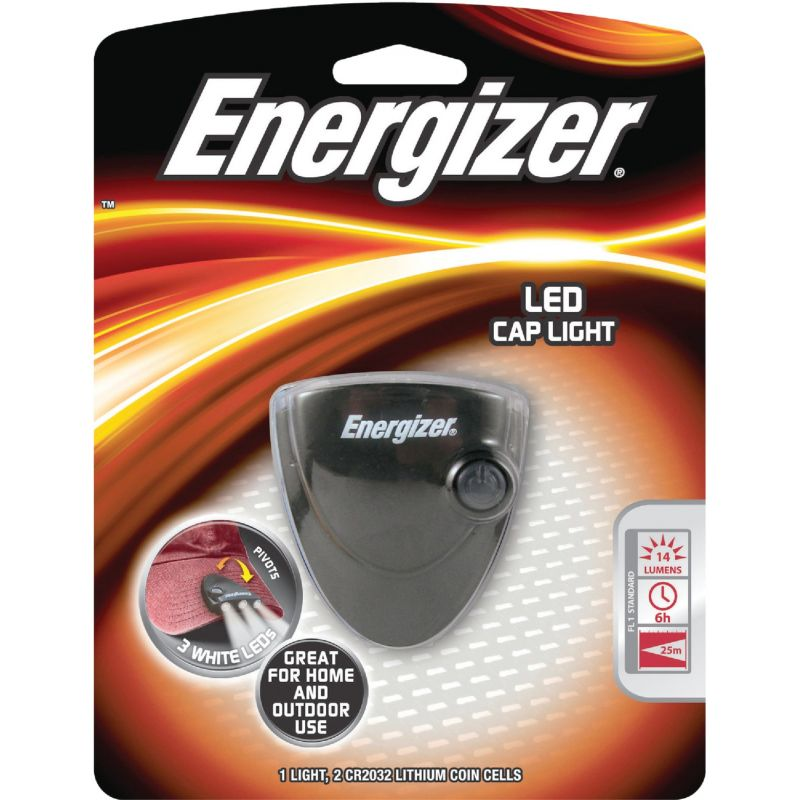 Energizer LED Portable Clip-On Light Black