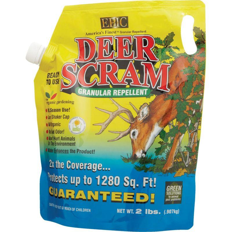 Deer Scram Organic Deer & Rabbit Repellent 2 Lb., Shaker