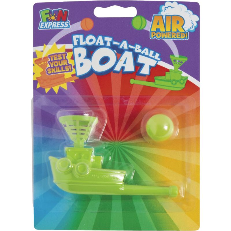 Fun Express Float-A-Ball Boat (Pack of 6)
