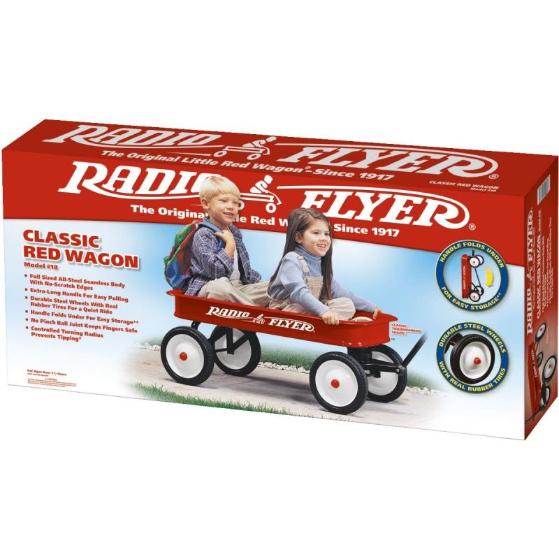 Radio Flyer Classic Red Wagon Red