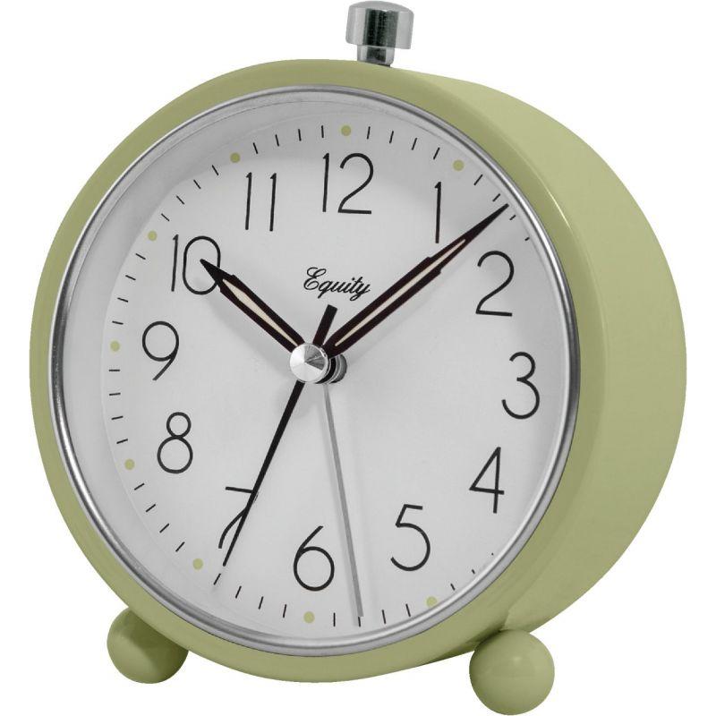 La Crosse Technology Equity Analog Quartz Battery Operated Alarm Clock