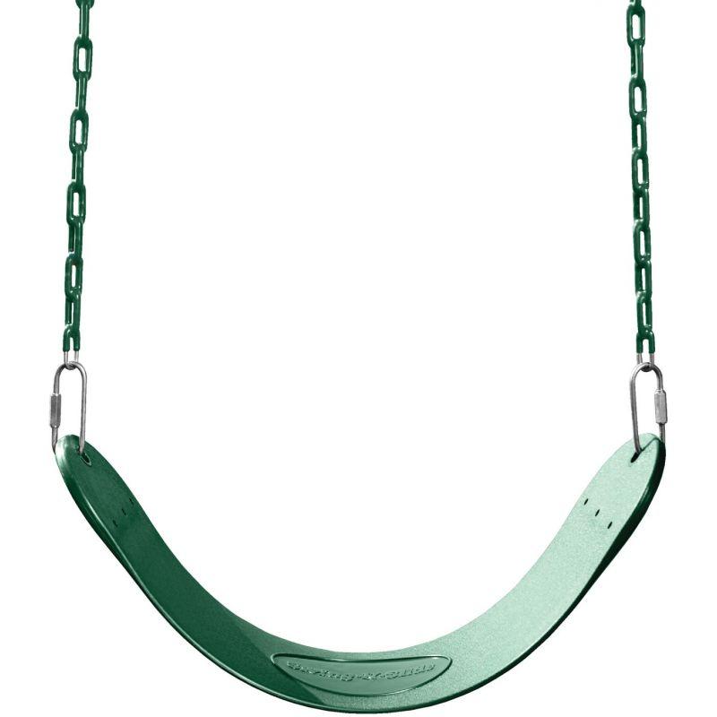 Swing N Slide Curved Oval Swing Seat Green
