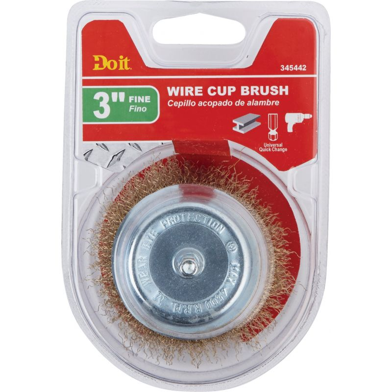 Do it Cup Drill-Mounted Wire Brush