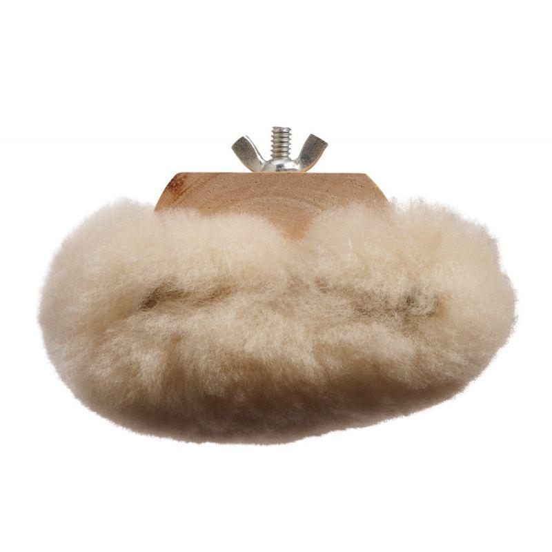 Lundmark Lambs Wool Wax Applicator White